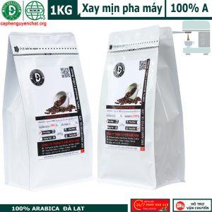 Cà phê pha máy arabica